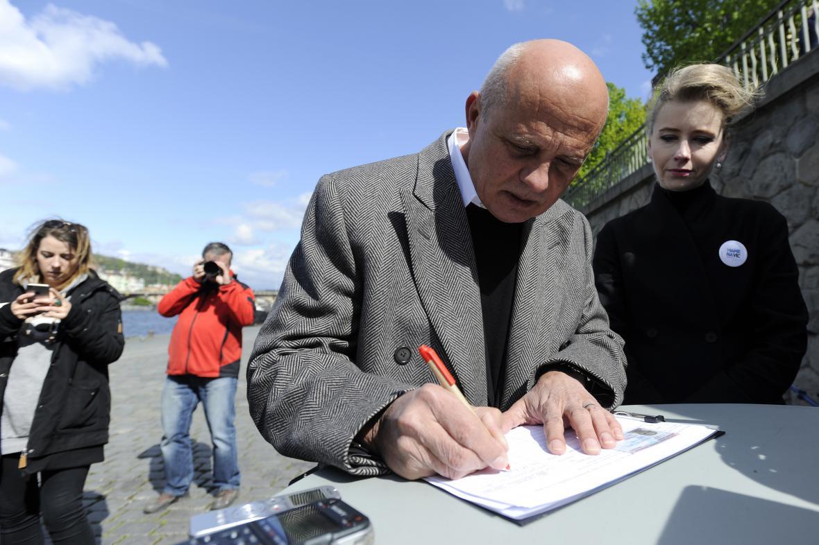 Michal Horáček zahájil sběr podpisů