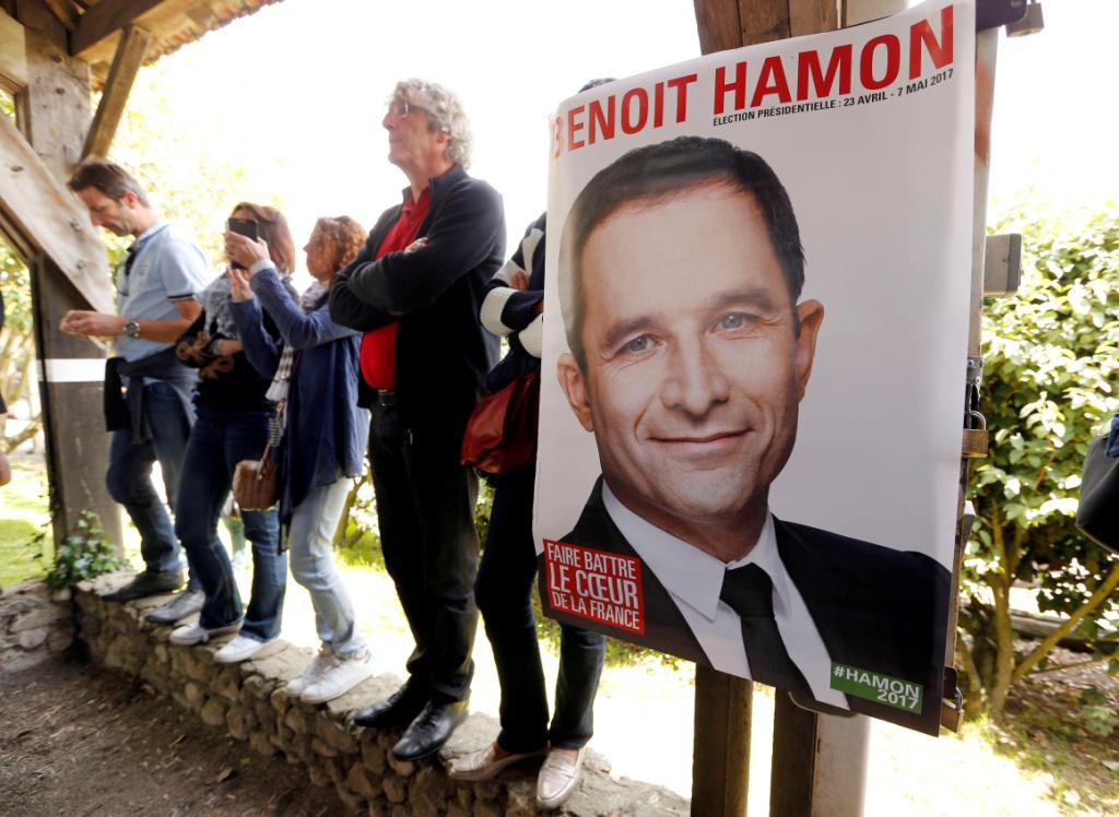 Kampaň Benoita Hamona