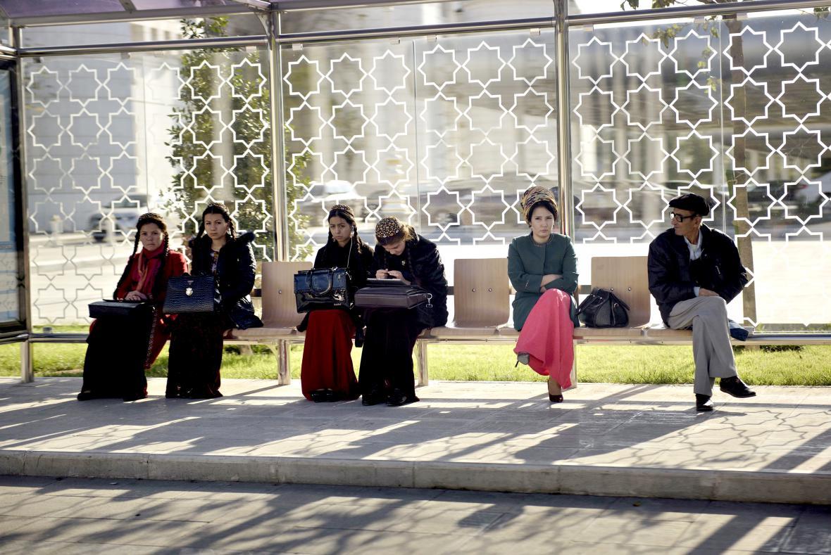 Obyvatelé Ašchabadu