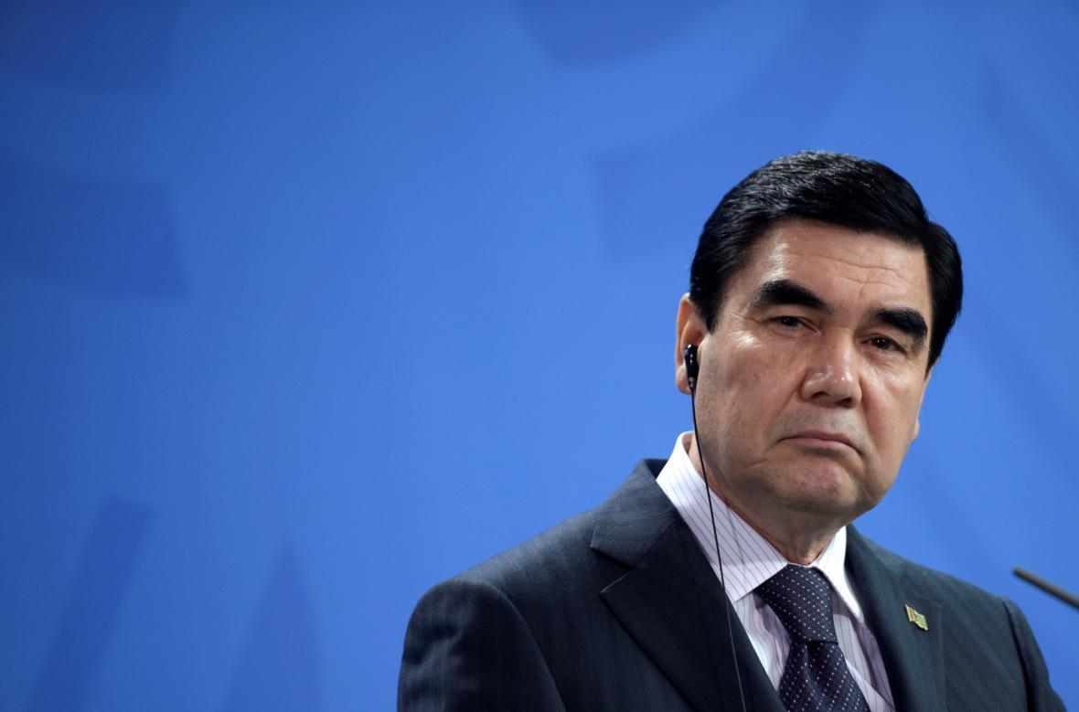 Prezident Berdimuhamedov je v čele země od roku 2006