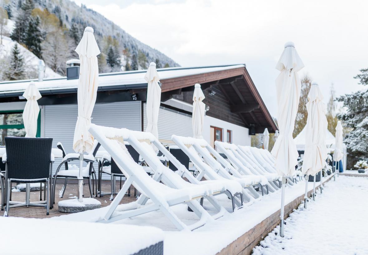 Sníh v Rakousku