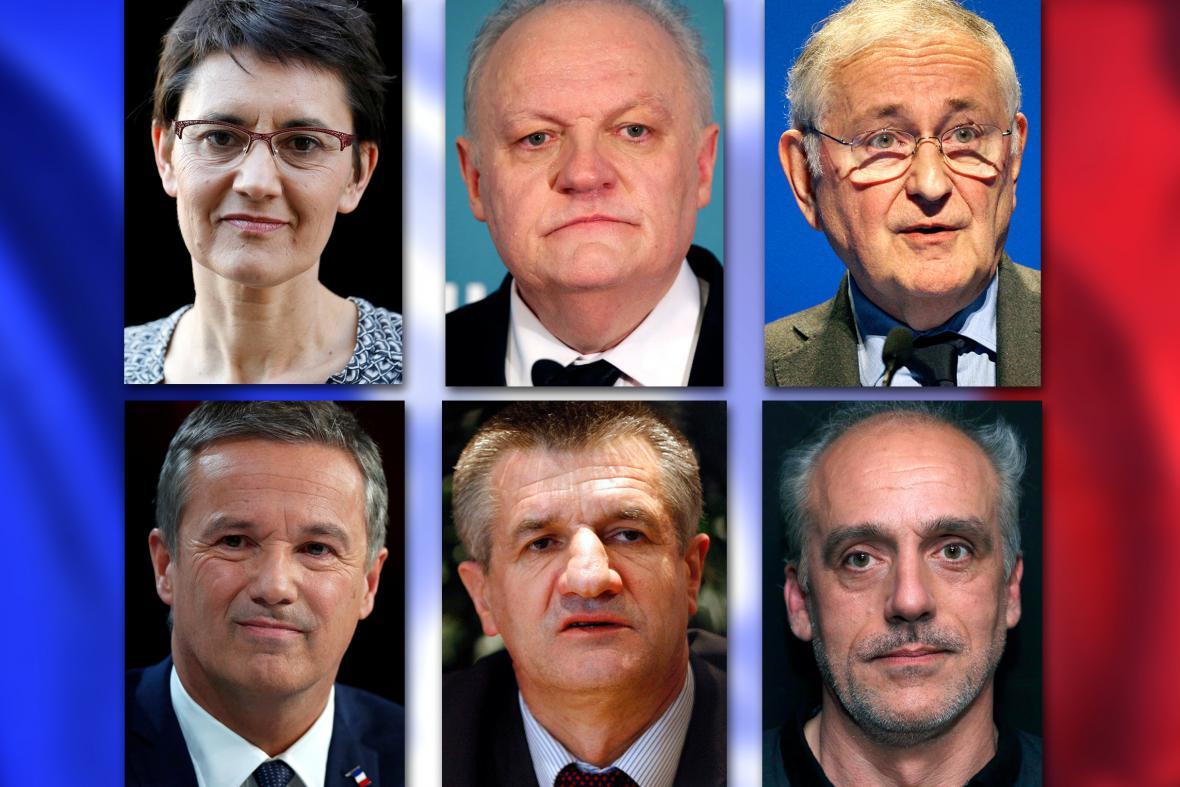Ostatní kandidáti