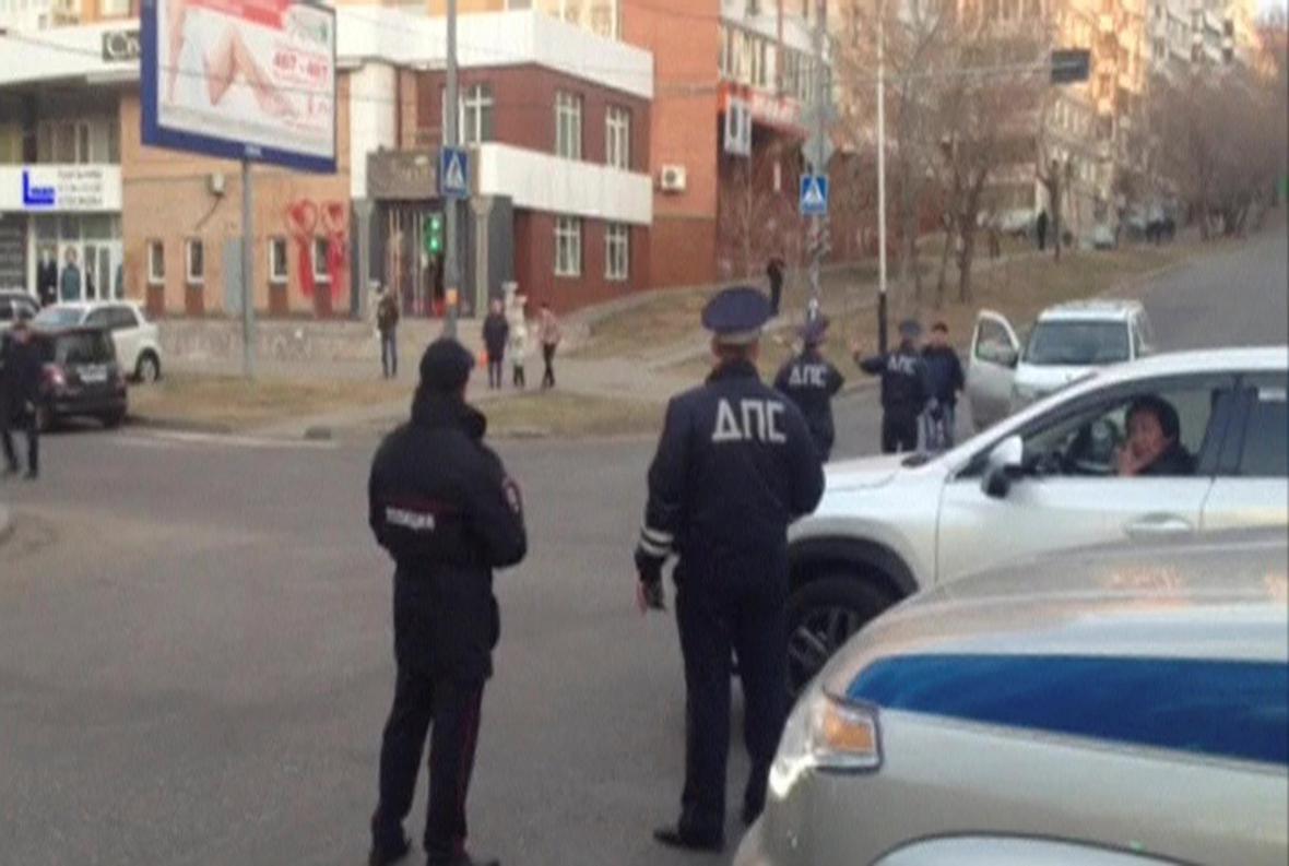 Útok v Chabarovsku