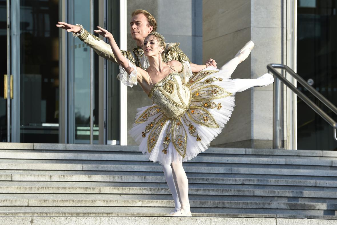 Ukázka z baletu Spící krasavice (Národní divadlo Brno)