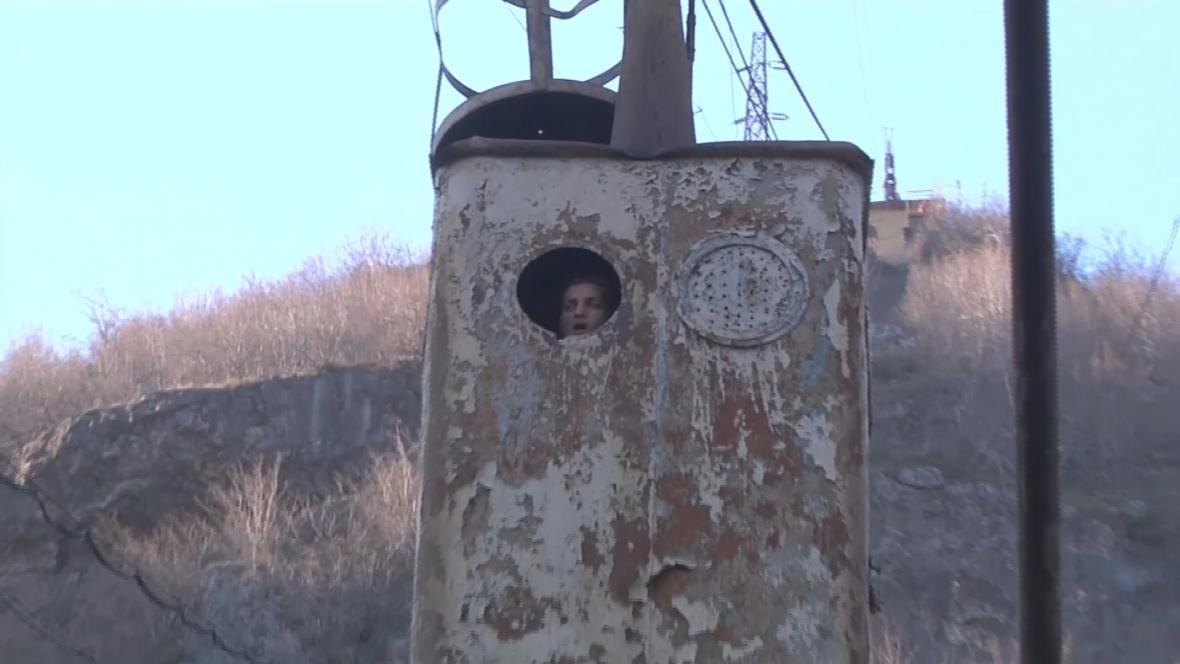 Lanovka v gruzínské Čiatuře
