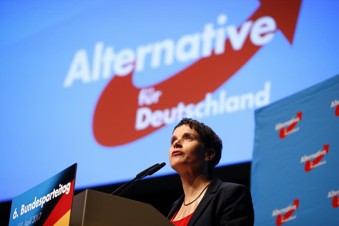 Předsedkyně AfD Frauke Petryová