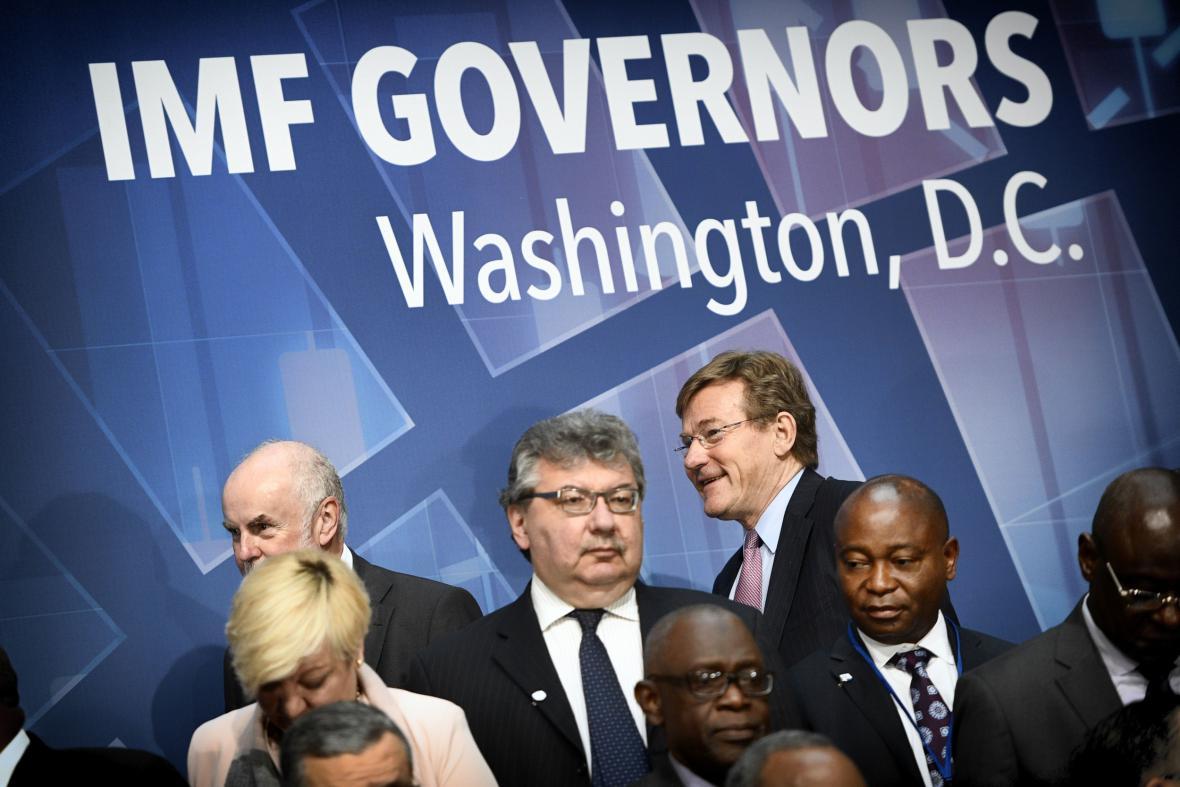 Setkání členských zemí Mezinárodního měnového fondu