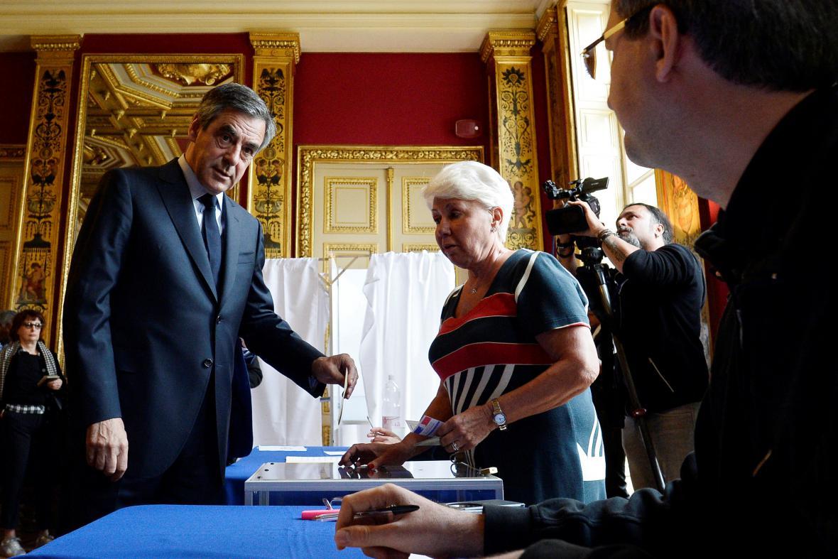 Francois Fillon u voleb