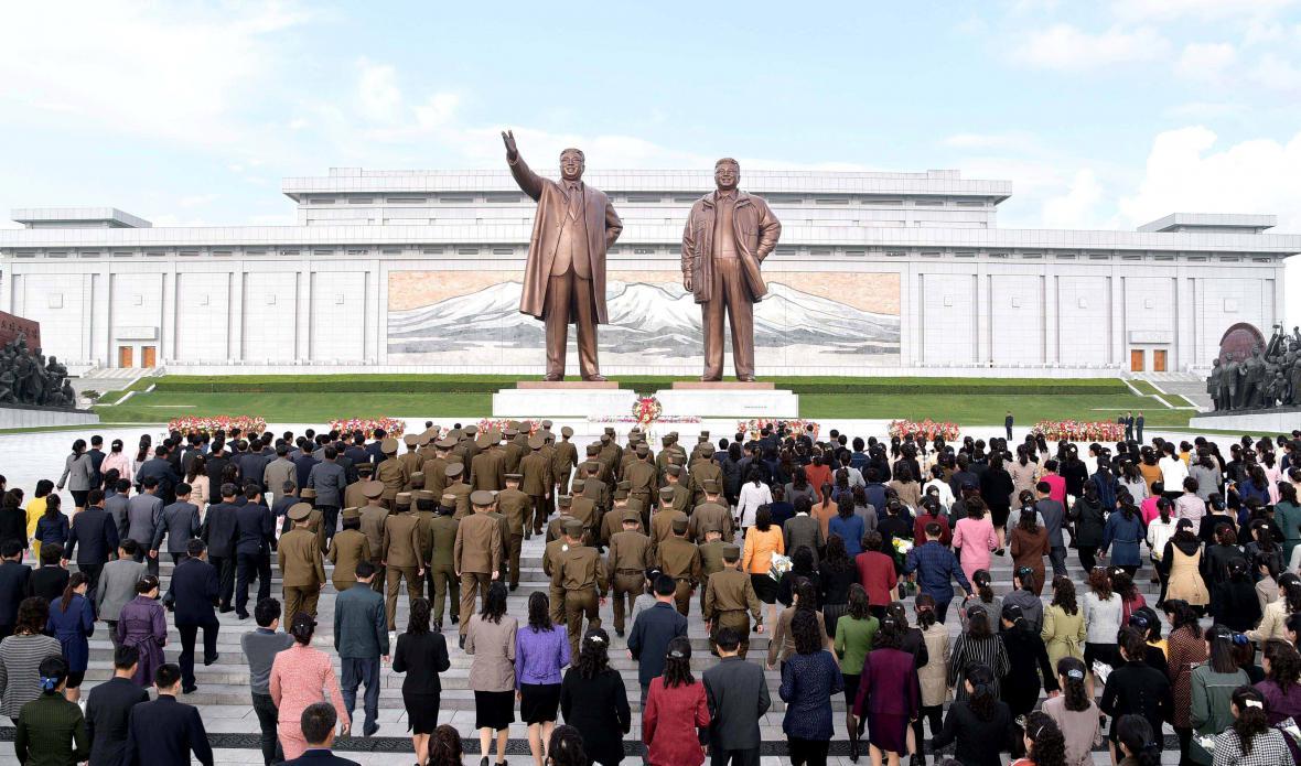 Oslavy 85. výročí vzniku severokorejské armády