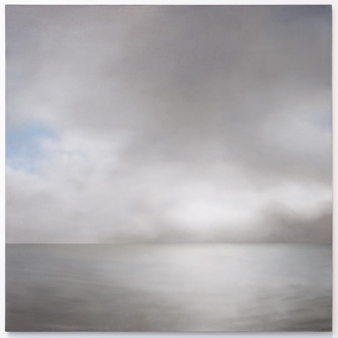 Gerhard Richter / Mořská Krajina (mírně oblačná), 1969