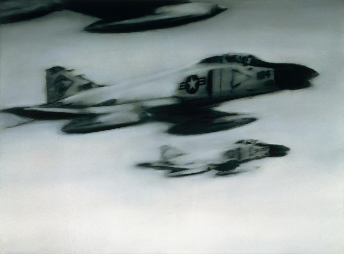 Gerhard Richter / Stíhací letouny Phantom, 1964