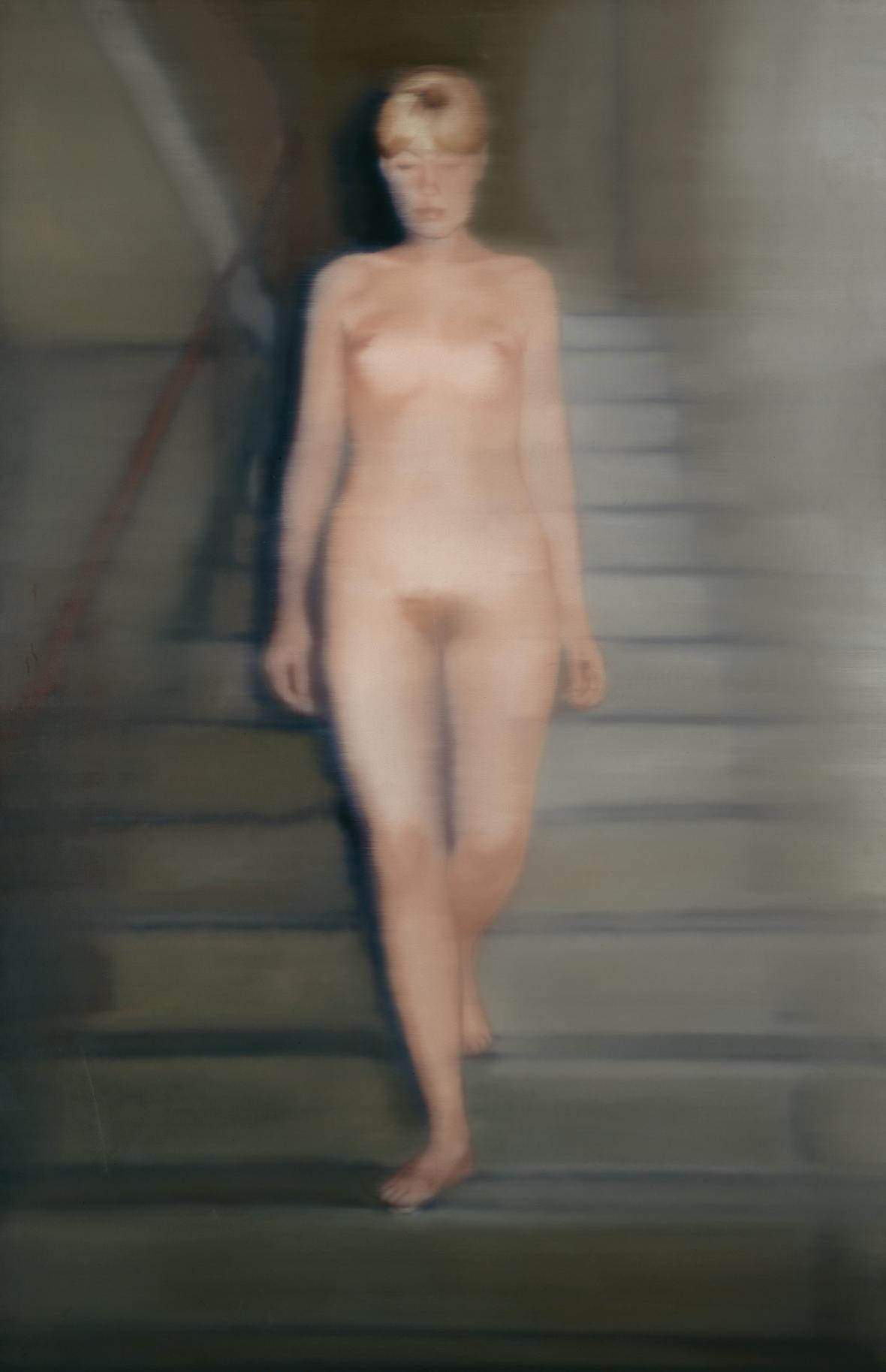 Gerhard Richter / Ema (Akt na schodech), 1966