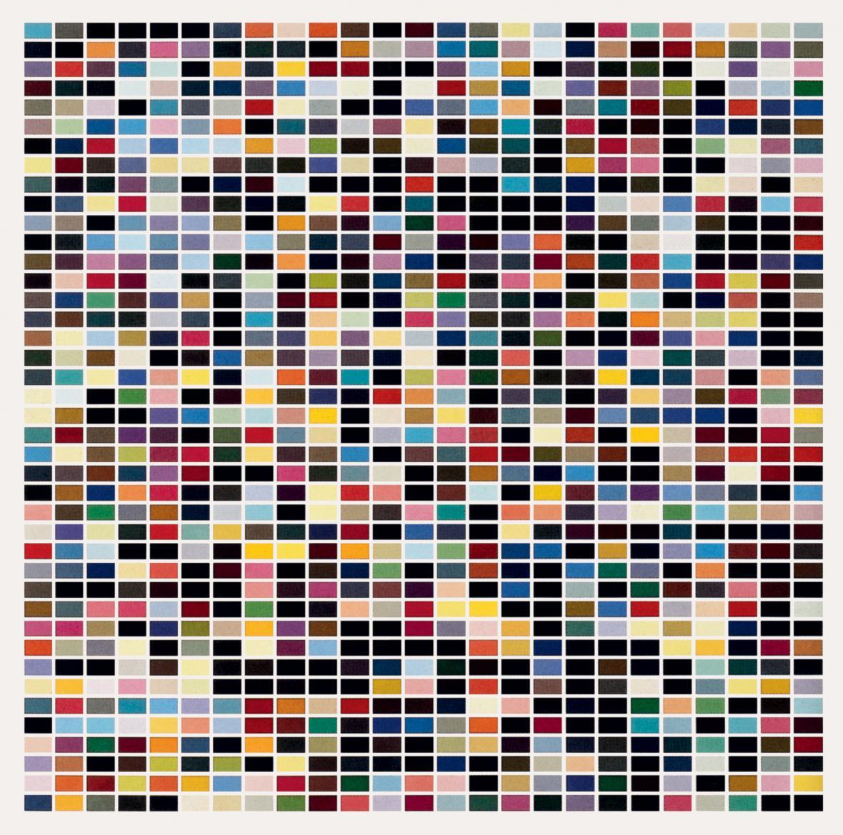 Gerhard Richter / 1025 barev, 1974
