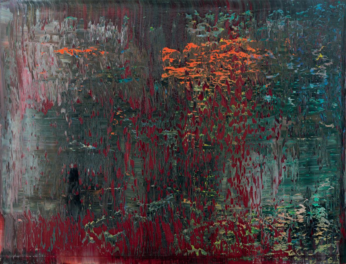 Gerhard Richter / Svatý Jan, 1988