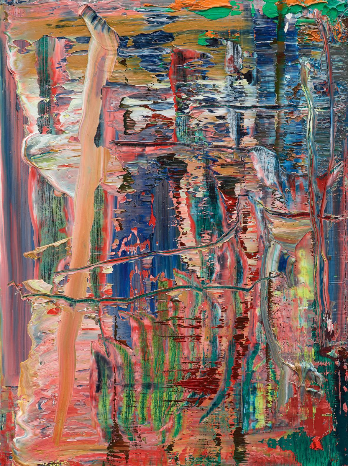 Gerhard Richter / Abstraktní obraz, 2016