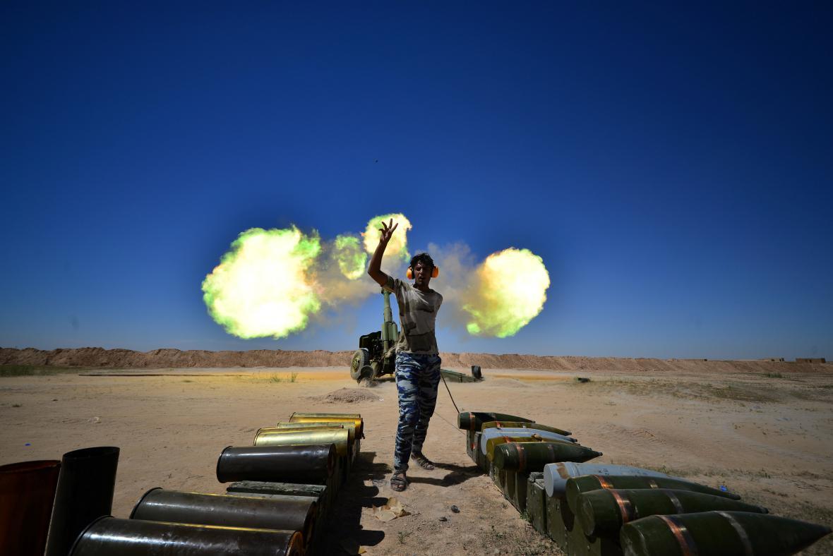 Boje o město Hatra