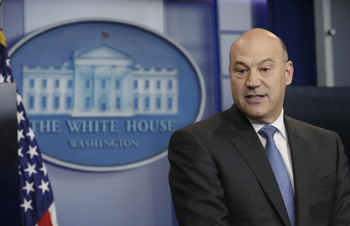Trumpův ekonomický poradce Gary Cohn.