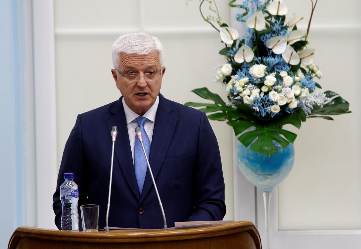 Černohorský premiér Duško Marković