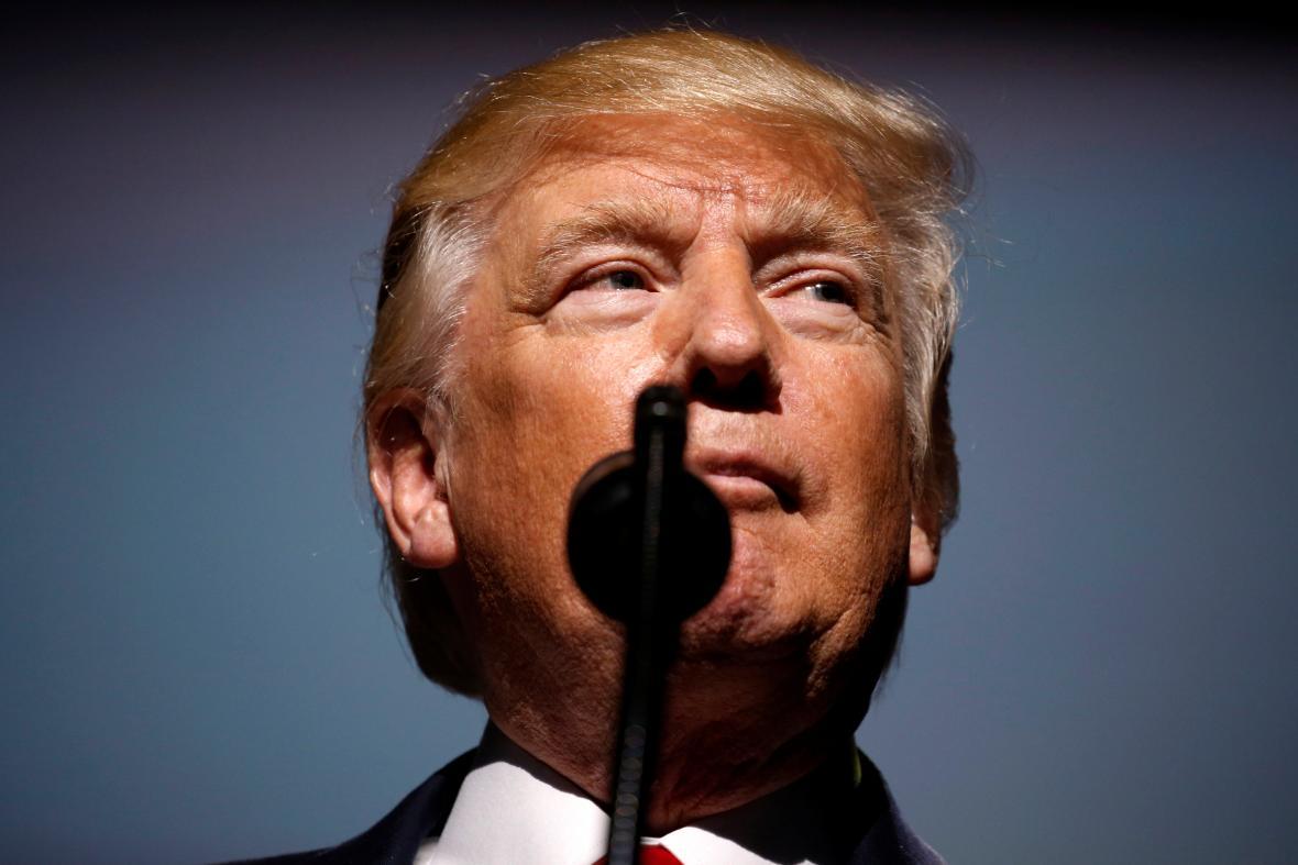 Šéf Bílého domu Donald Trump