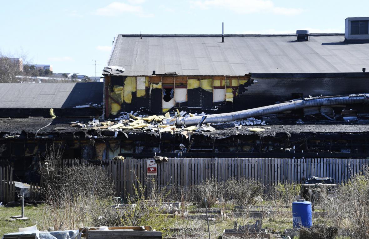 Šíitskou mešitu ve Švédsku zničil požár
