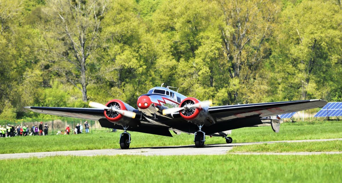 Baťovo letadlo se představilo ve Zlíně