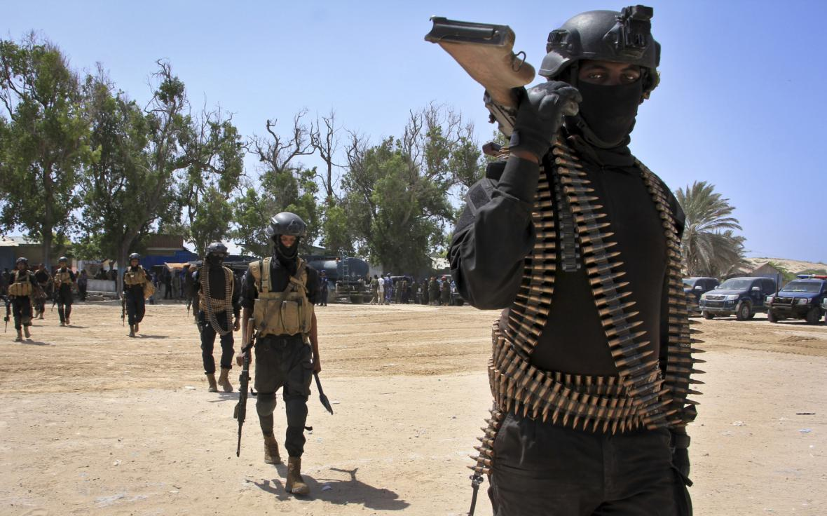 Somálští vojáci