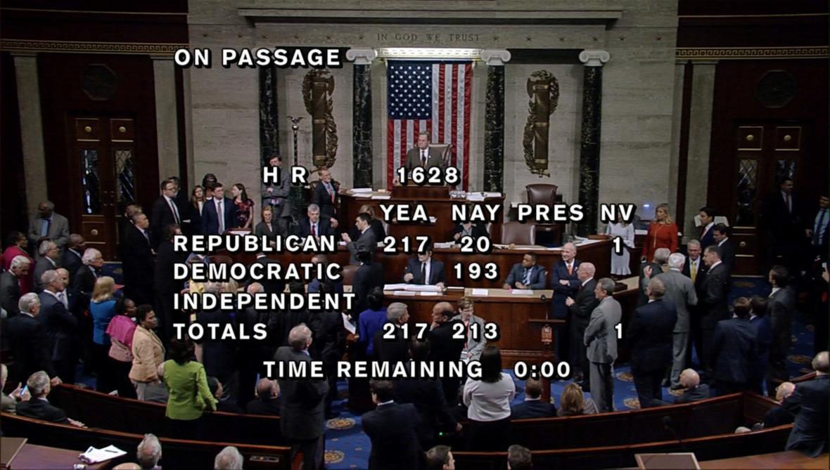 Záznam z hlasování o nové zdravotnické reformě