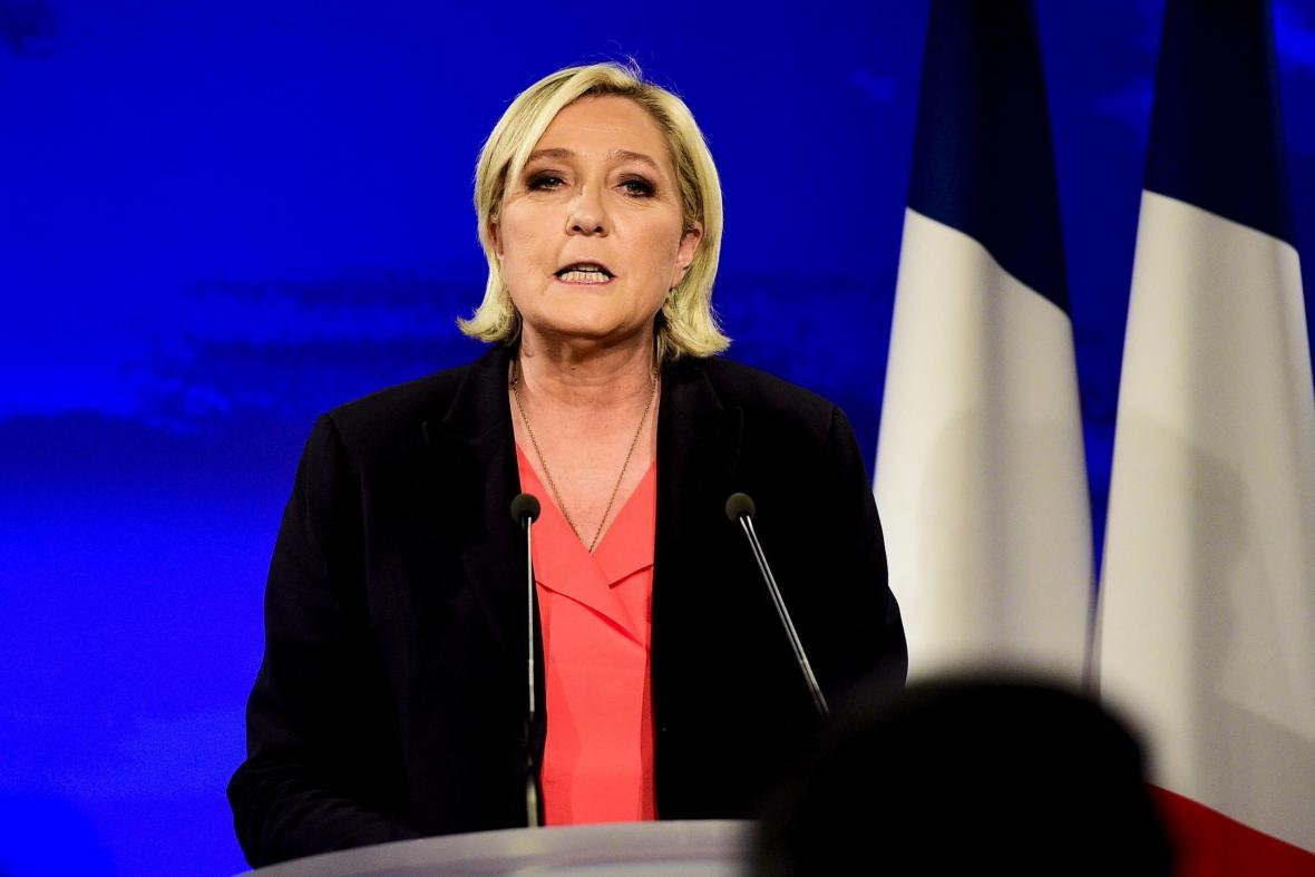 Projev Marine Le Penové po oznámení výsledků