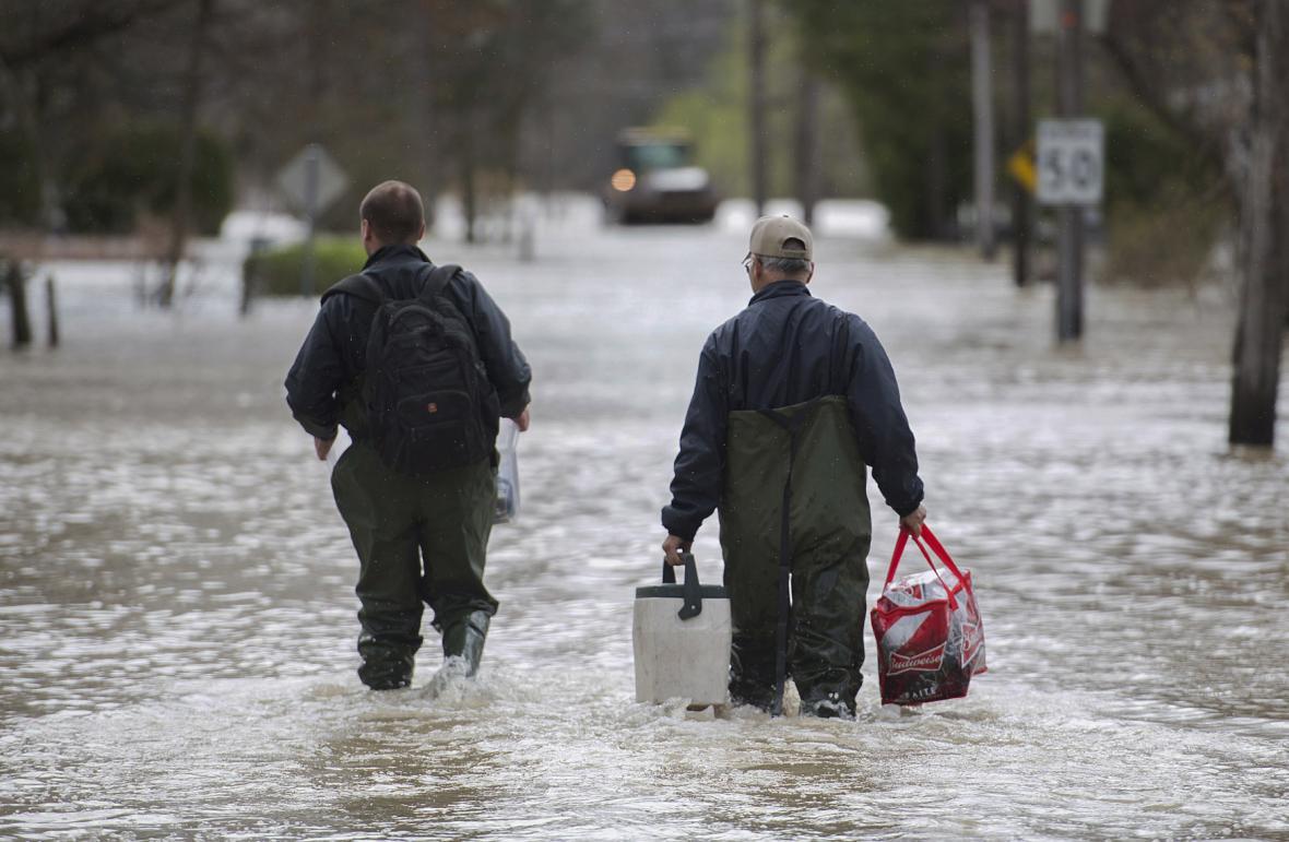 Záplavy v Kanadě