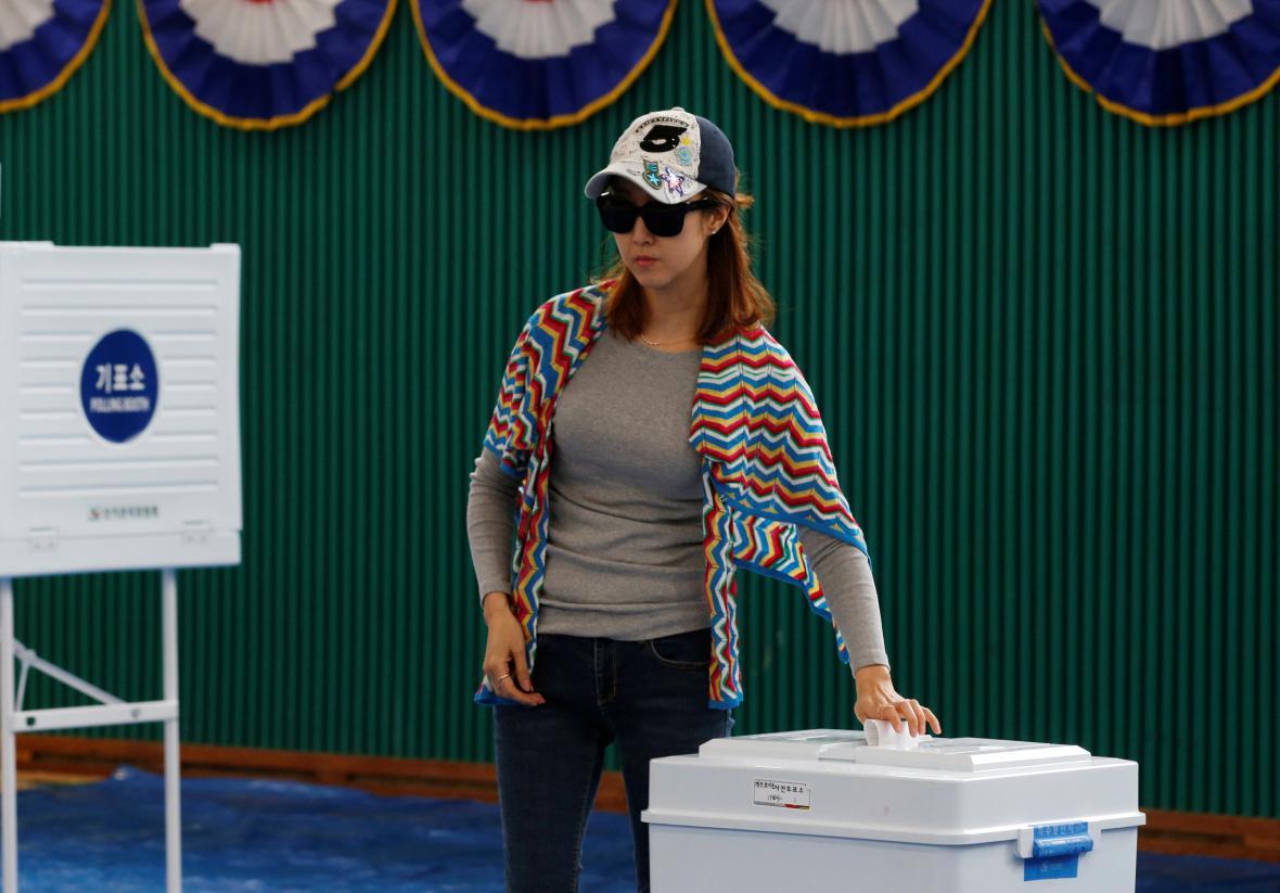 Volby v Jižní Koreji
