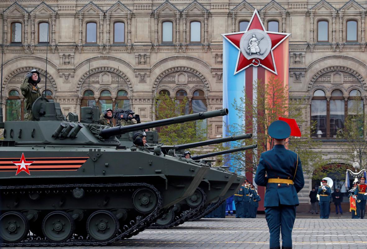 Ruské oslavy výročí konce druhé světové války