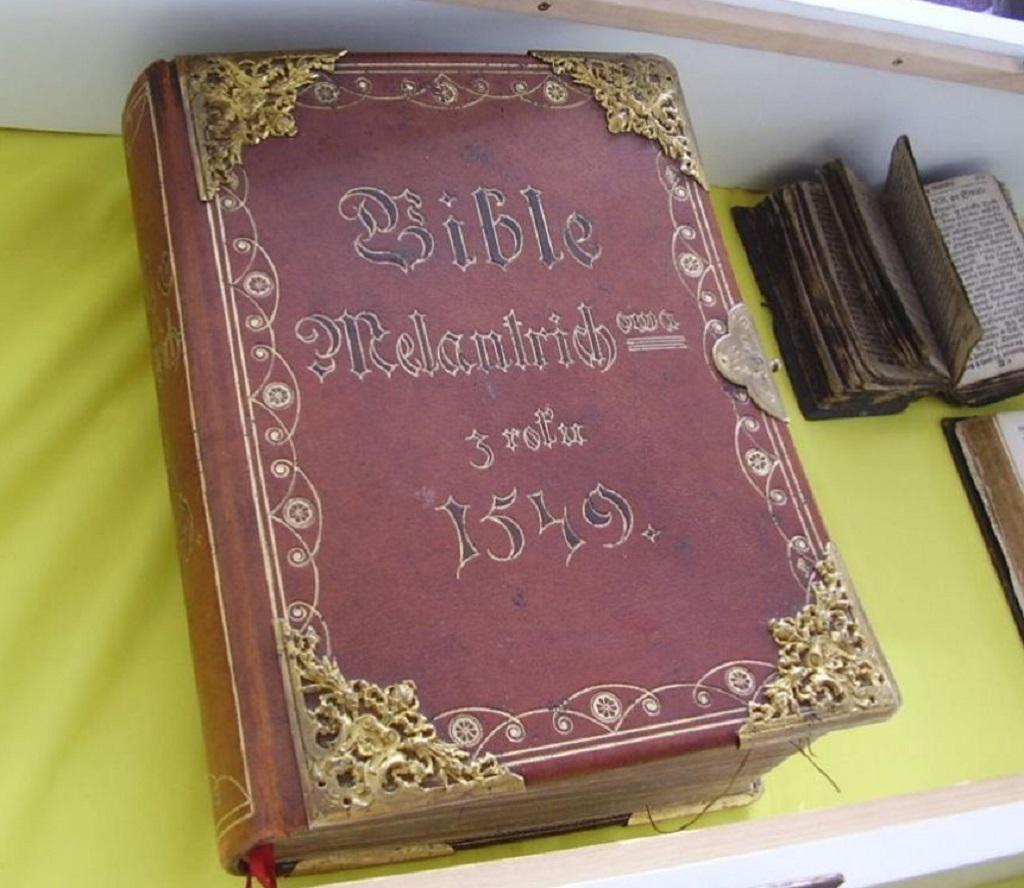 Expozice v Muzeu Bible