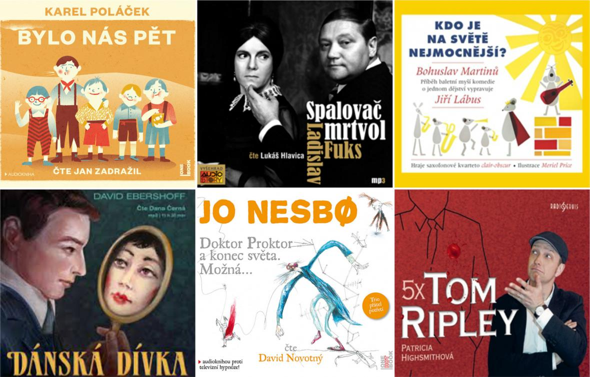 Audioknihy roku 2016
