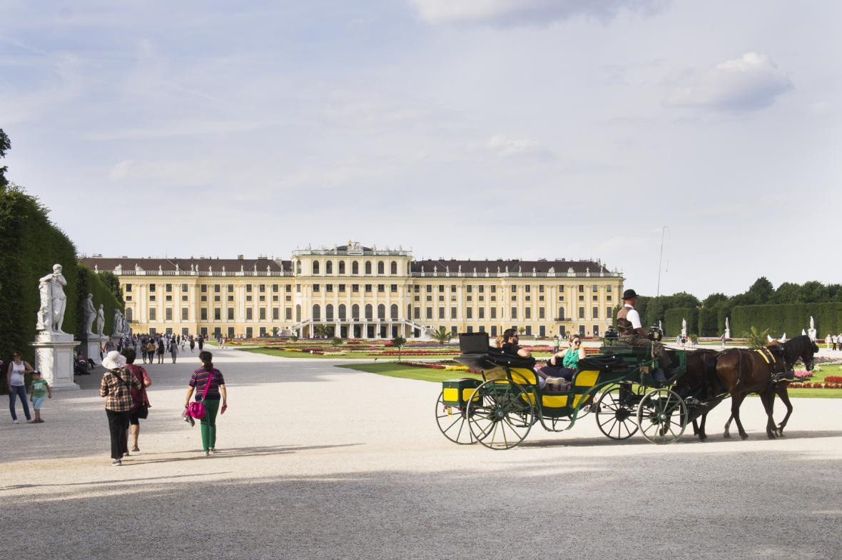 Zámek Schönbrunn ve Vídni