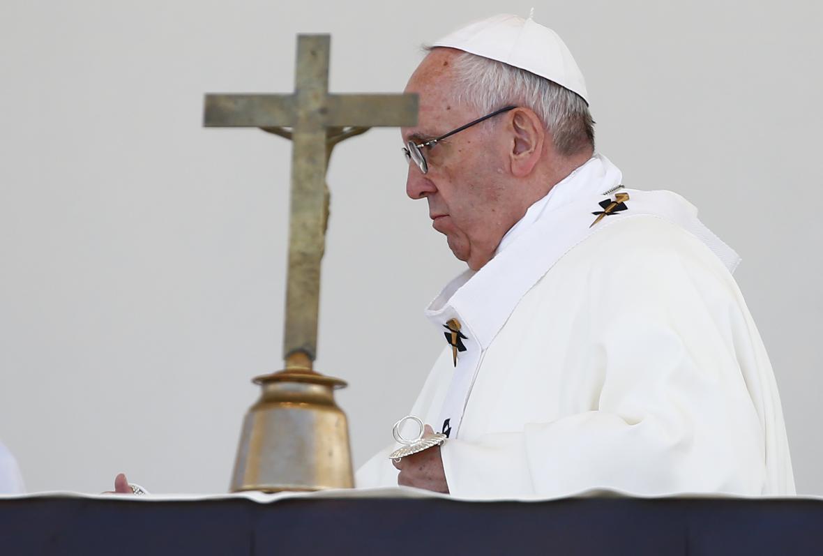 Papež František ve Fátimě