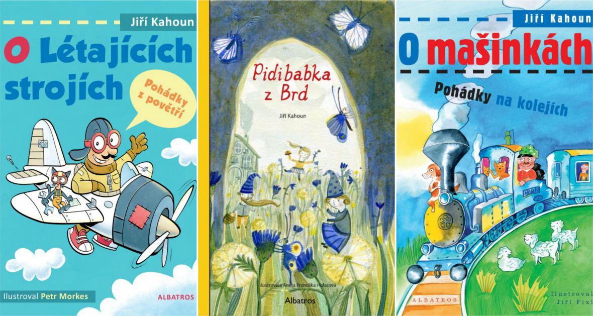 Knihy Jiřího Kahouna