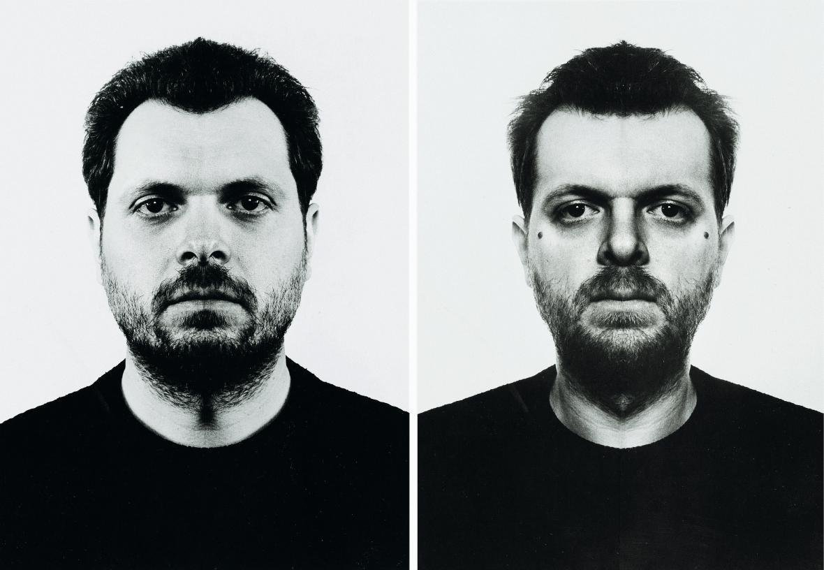 Jiří David / Z cyklu Skryté podoby, 1992-5