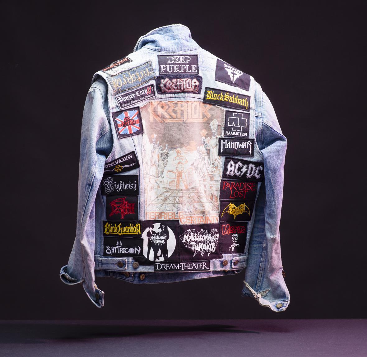 Džínová bunda Bohouše Bobo Němce, 90. léta