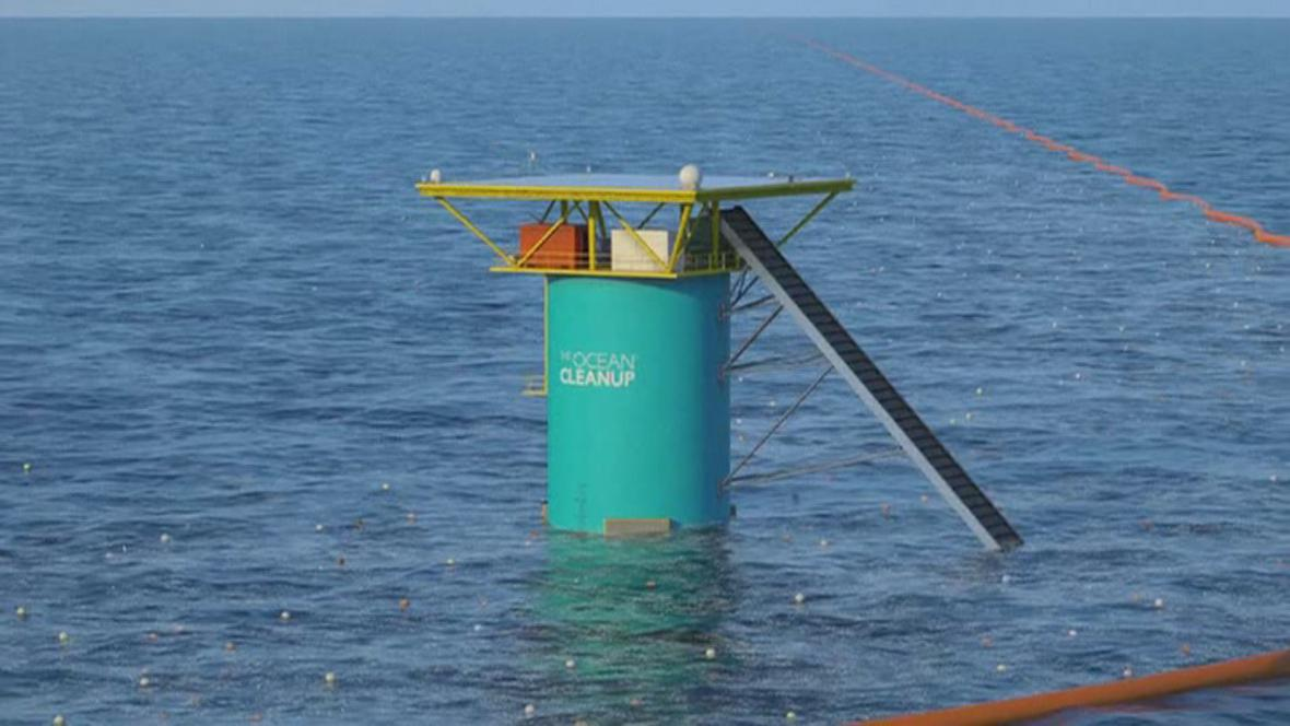 Technologie The Ocean Cleanup