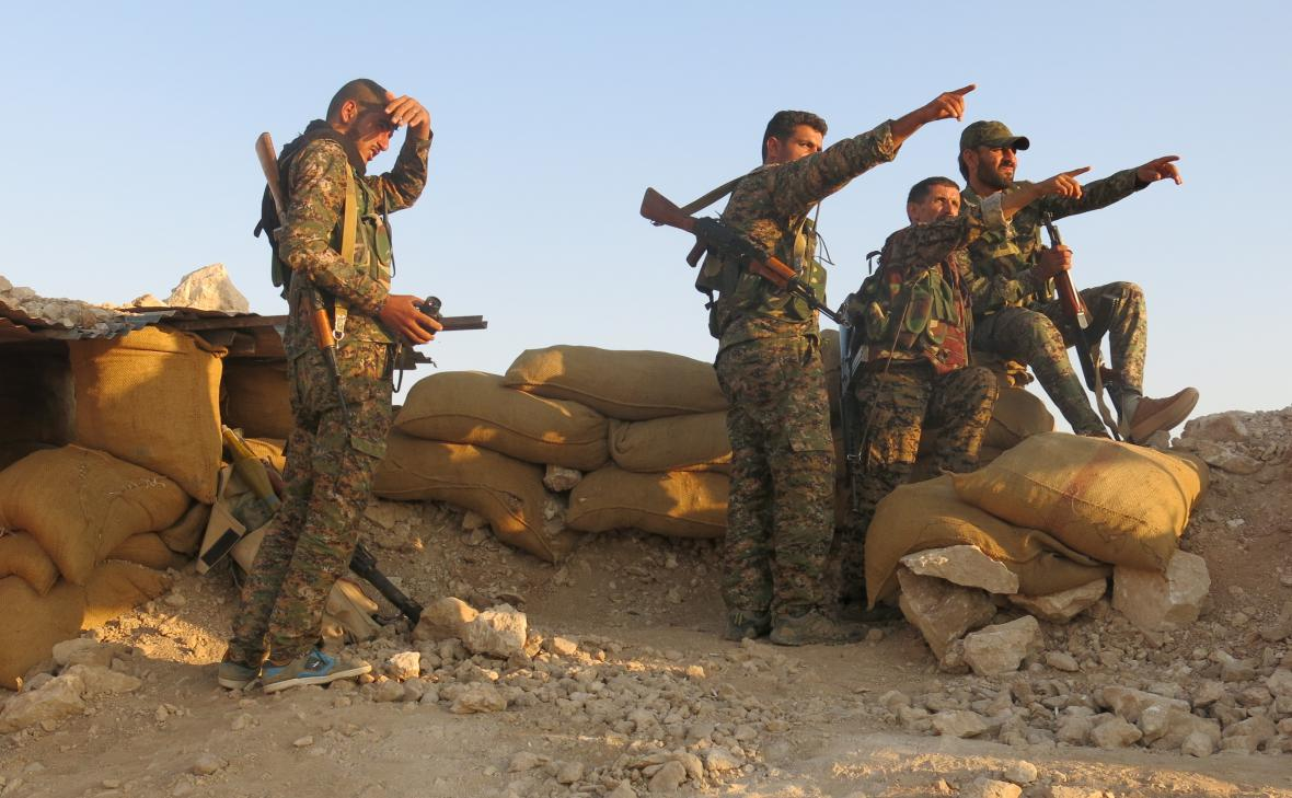 Kurdské jednotky YPG