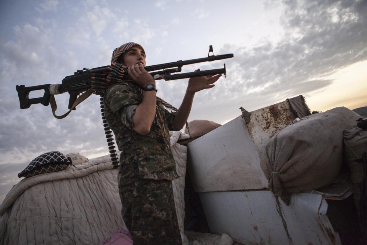 Kurdské jednotky