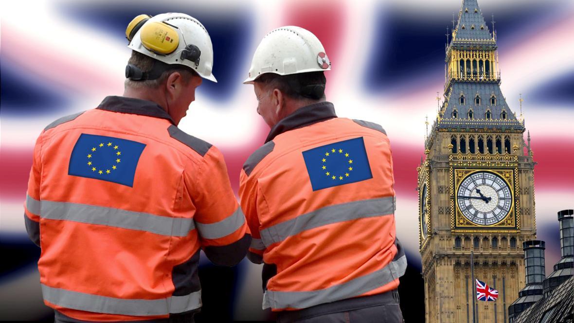 Práce v UK po Brexitu