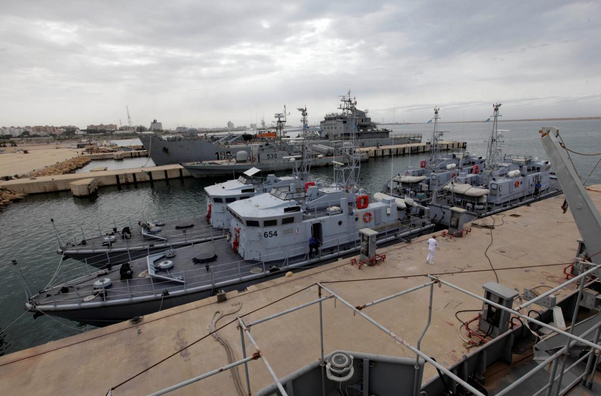 Italské lodě pro libyjskou pobřežní stráž
