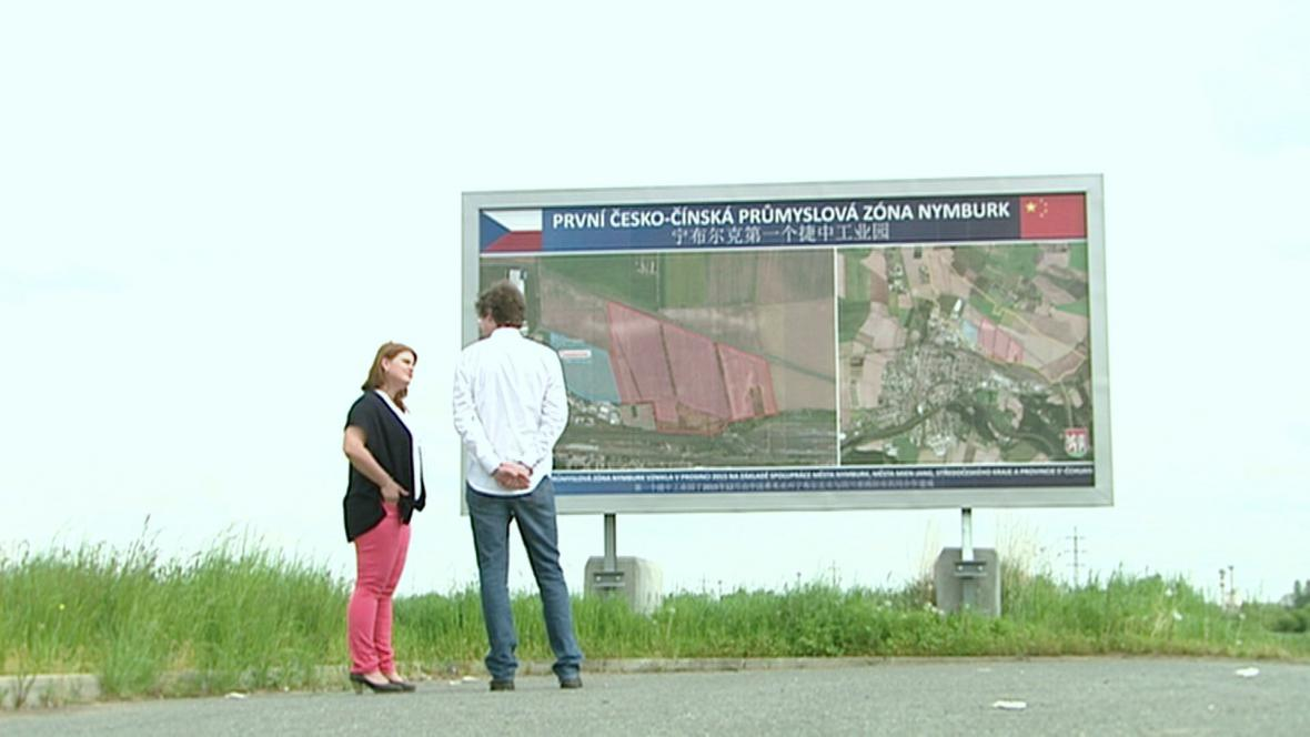 Česko-čínská průmyslová zóna u Nymburku
