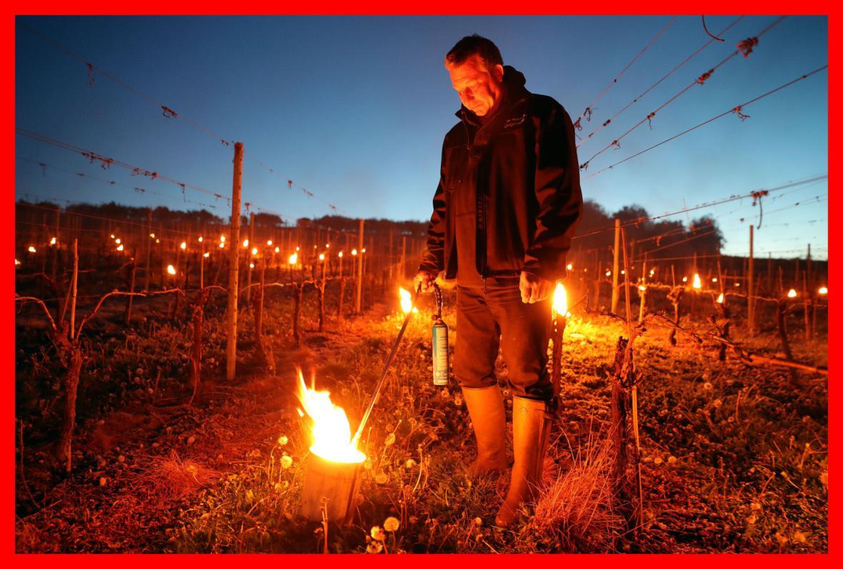 Parafínové svíce jako nejúčinnější opatření proti mrazům