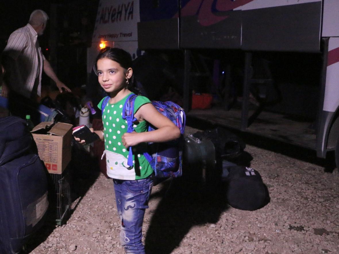 Evakuace části Homsu