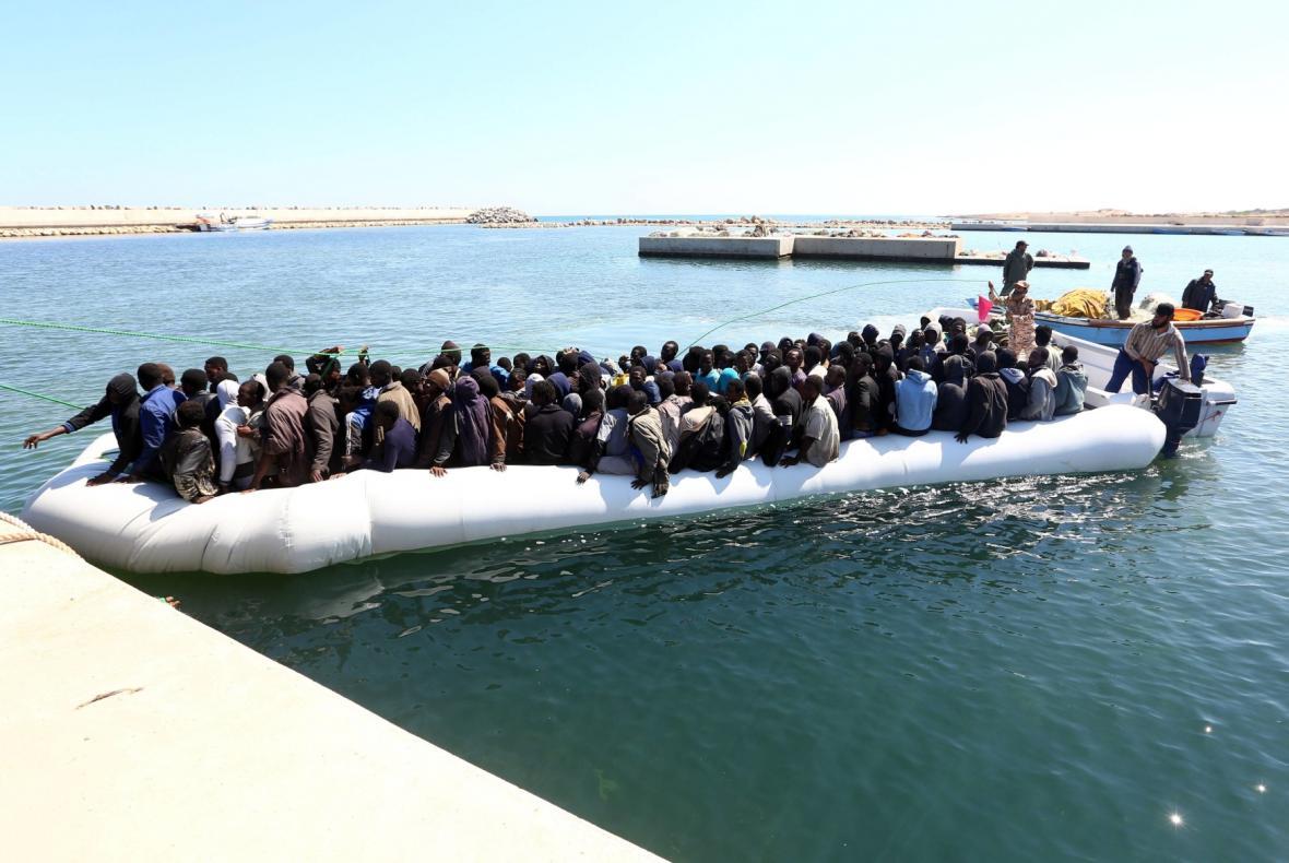 Záchrana afrických běženců