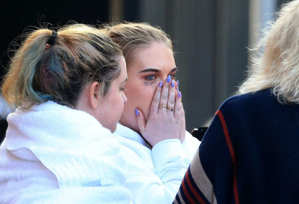 Svědci útoku v Manchesteru