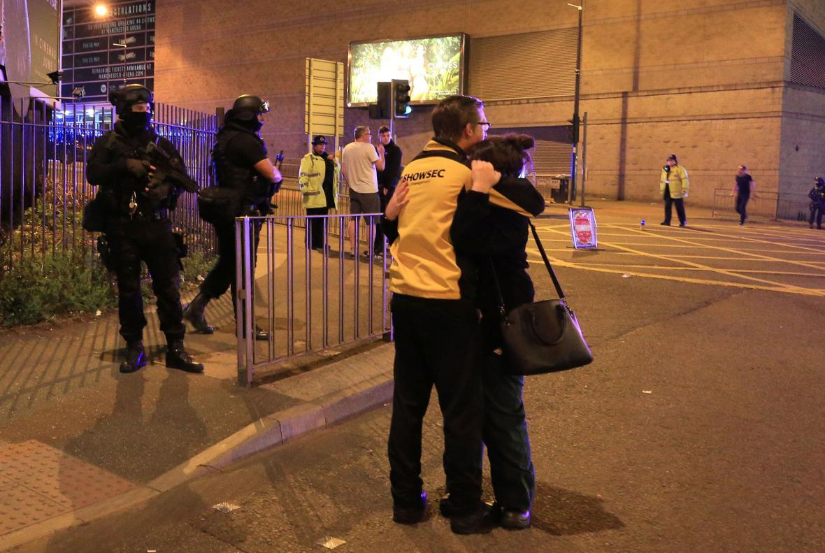 Po útoku u haly v Manchesteru