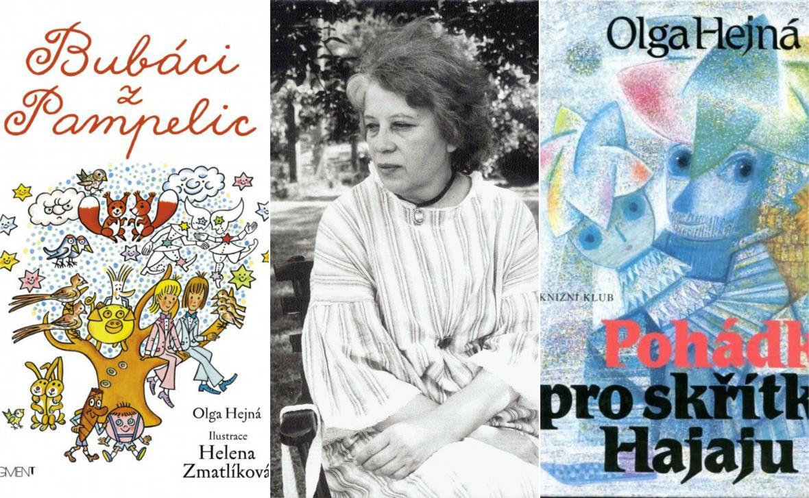 Spisovatelka a ilustrátorka Olga Hejná